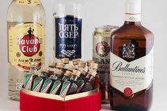 Alkoholu przyjęcie Fotografia Stock