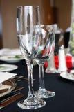 alkoholu szkła winograd Zdjęcia Royalty Free