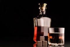 Alkoholu tło Zdjęcie Royalty Free