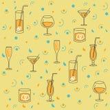 alkoholu tła produkcja bezszwowa Zdjęcia Stock
