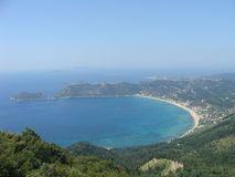 Alkyon Beach Corfu Royalty Free Stock Photos