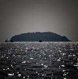 Allé à la mer Image libre de droits