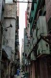 Allée à Hong Kong Photo stock
