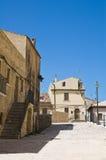 allée Acerenza Basilicate l'Italie Photographie stock