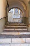 Allée. Biccari. La Puglia. L'Italie. photographie stock