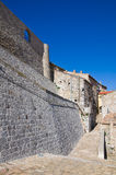 allée Cancellara Basilicate l'Italie Photos stock