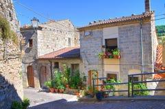 allée Cancellara Basilicate l'Italie Photo libre de droits