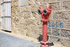 Allée dans Jaffa, Tel Aviv Photo stock