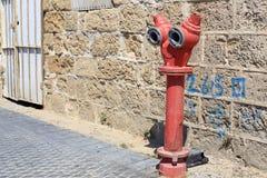 Allée dans Jaffa, Tel Aviv Image stock