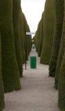 Allée de cimetière de Punta Arenas Images stock