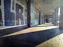 Allée de graffiti Photographie stock