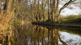 Allée de rivière Photographie stock libre de droits