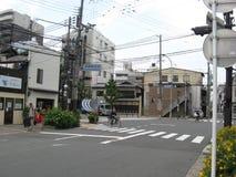 Allée de rue de Kyoto Image stock