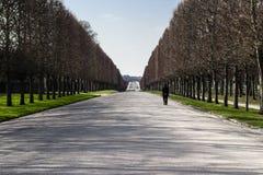 Allée de Versailles Photo libre de droits