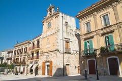allée Delle Fonti d'Acquaviva La Puglia l'Italie Photographie stock