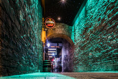 Allée en Dublin Ireland Photographie stock libre de droits