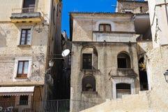 allée Morano Calabro La Calabre l'Italie photo stock