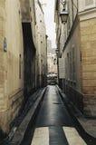 Allée parisienne Images libres de droits