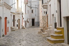 allée Putignano La Puglia l'Italie Photo libre de droits