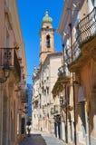 allée San Severo La Puglia l'Italie Photos libres de droits