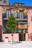 allée Satriano di Lucania l'Italie Image libre de droits