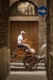 Allées antiques de Florence Image libre de droits