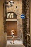 Allées antiques de Florence Photos libres de droits