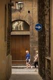 Allées antiques de Florence Photo libre de droits