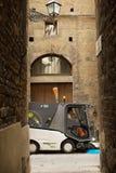 Allées antiques de Florence Photo stock