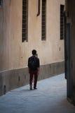 Allées antiques de Florence Photographie stock libre de droits
