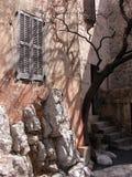 Allées de Gourdon, Provence Photo libre de droits