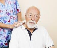 Allégement de douleur d'ultrason Image stock