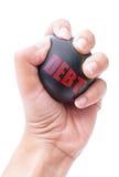 Allégement de la dette Images stock