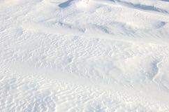 Allégement sur la neige Photos stock