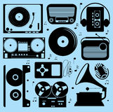 All About Music Collection Royalty Free Stock Images