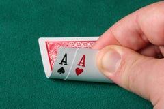 All aces stock photos