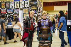 All Ages Cosplayers and fans at the Comic Expo