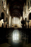 All'altare della cattedrale Fotografia Stock