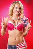 All american blond Stock Photography