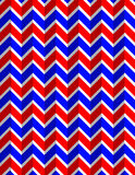 All-American Chevron Background Stock Photography