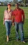 All-American couple Stock Photos