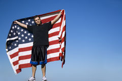 All-American Man Stock Photo