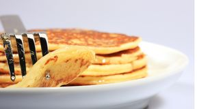 All american pancakes royalty free stock photos
