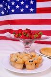 All american snacks Stock Photos