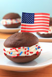 All American Whoopie Pie Royalty Free Stock Photo