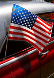all amerikansk bil Fotografering för Bildbyråer