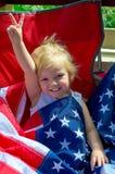 All amerikansk flicka Fotografering för Bildbyråer