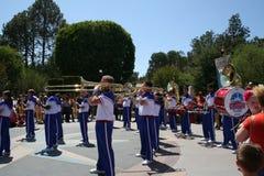 All amerikansk högskolamusikband Royaltyfri Bild