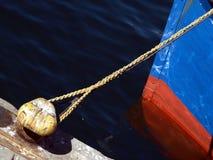 All'ancoraggio Immagini Stock Libere da Diritti