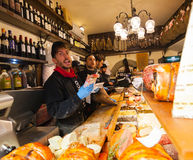 All`Antico Vinaio in Florence, Italy. Stock Image